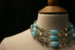 1960s Glass Bead necklace