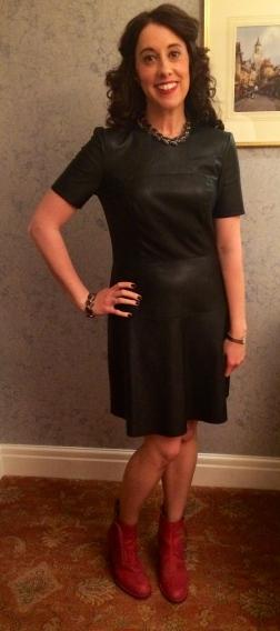 Dress: Zara Boots: Acne