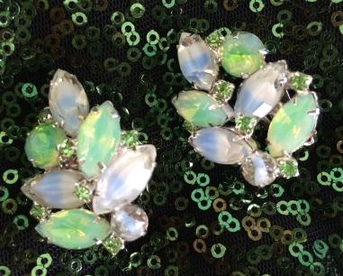 Kramer Parure (Earrings and bracelet), 1960s, Gemma Redmond Vintage
