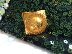Gianni Versace Ring, 1990s, Gemma Redmond Vintage