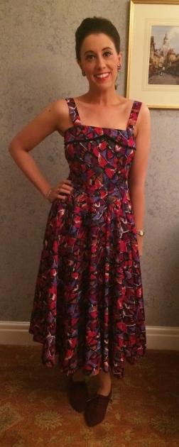 Dress: 1950s, Bowler Vintage