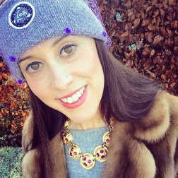 Necklace: Sphinx, 1980s, Gemma Redmond Vintage Jacket: 1960s, Vintage Fair Jumper: Zara Hat: Silver Spoon Attire