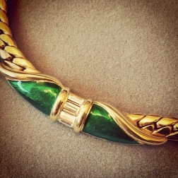 Necklace: 1980s, Gemma Redmond Vintage