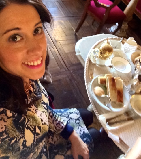 Afternoon Tea Selfie
