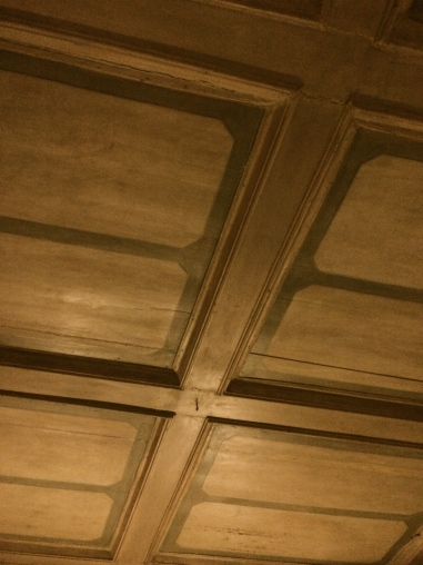 Old Venetian ceilings