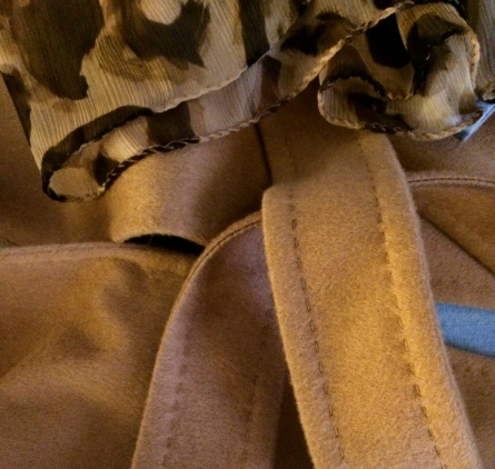 Jacket and Scarf: MaxMara