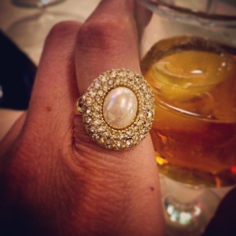 Ring: Grosse, 1980s, Gemma Redmond Vintage