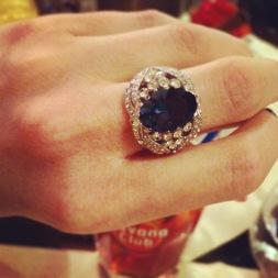 Ring: 1990s, Gemma Redmond Vintage