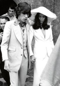 Image: Mick and Bianca Jagger - Express Newspapers and Getty Images